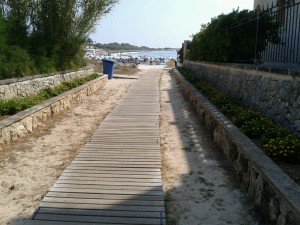 Punta Prima - Accessible Cladding Pathway to beach